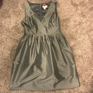 JCrew silk dress
